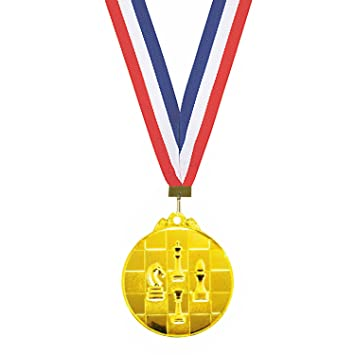 photograph relating to Printable Medals named Purchase Trophy Shopping mall Chess Gold Medal ( 2.5 Inch Diameter )With