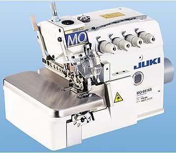 JUKI MO-6816S Servo Motor - Máquina de Coser (5 Hilos, Incluye Mesa y Estructura): Amazon.es: Juguetes y juegos