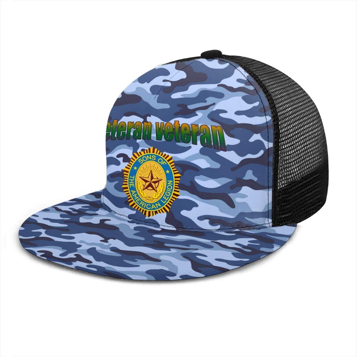 Sons of The American Legion Classic Grid Hop Flat Along Baseball Hats Snapback Men Women Caps Adjustable