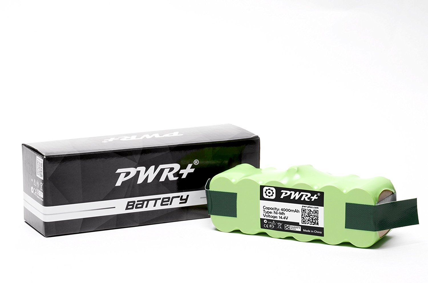 Pwr 4000mAh Replacement-Battery for Irobot-Roomba 600 700 800 900 Series 610 614 620 630 650 655; Professional 611 625 Pro 627 653 Pet 654 655 660 670 760 770 780 790 860 870 880 980 80501 Vacuum Cleaning Robot Backup Extended Capacity PWR+ 378-PWR59-8315
