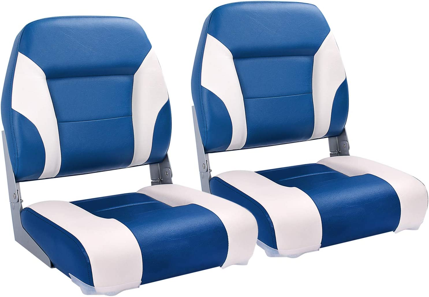 Northcaptain T2 Deluxe Low Back Folding Boat Seat 2 Seats