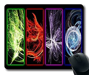 PARALLEL ELEMENTS Personalized Custom Mouse Pad Gaming Mousepad in 220MM*180MM*3MM -301051