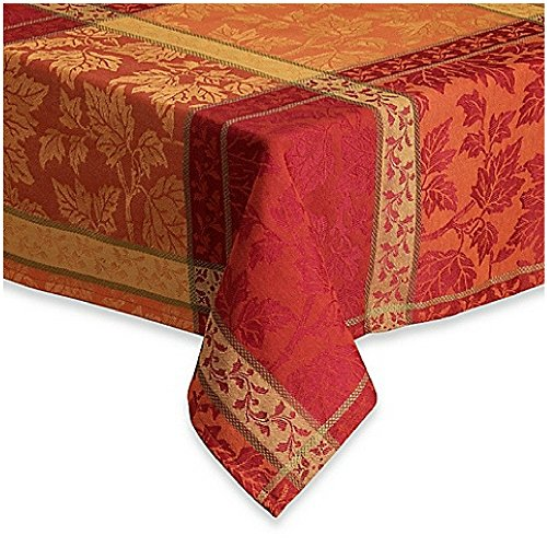 Montvale Woven Jacquard Fabric Tablecloth (60