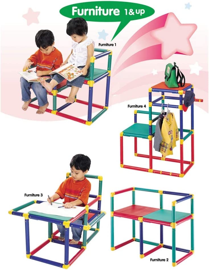 Little Helper 10-in-1 Indoor /& Outdoor Climbing Frame for Toddlers 12m 5 yrs Baby Slide Baby Climbing Frames Modular Furniture