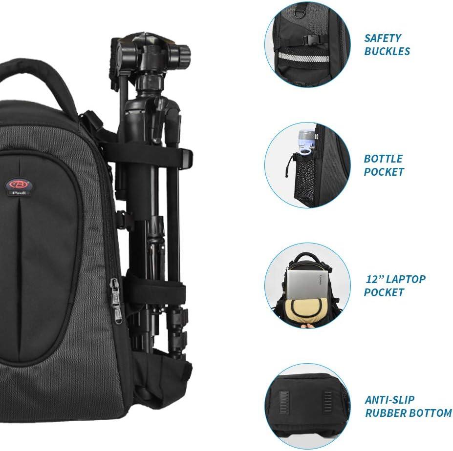 Nikon - Mochila Impermeable para cámara réflex Digital Nikon con ...