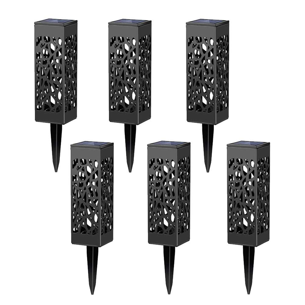 Solar garden lights + Weather-resistant lights + LED lights, Pathway lights for garden, Patio, Yard and Driveway (8 pcs in package)
