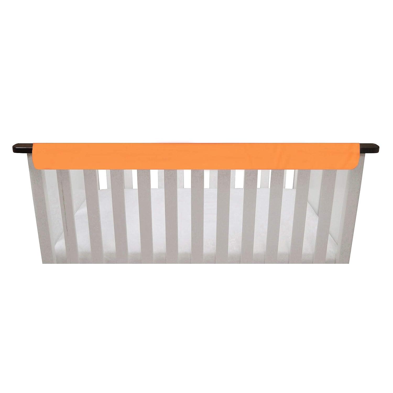 Orange /& Aqua Go Mama Go designs Reversible Teething Guard 52 x 6 52 x 6 019962273124