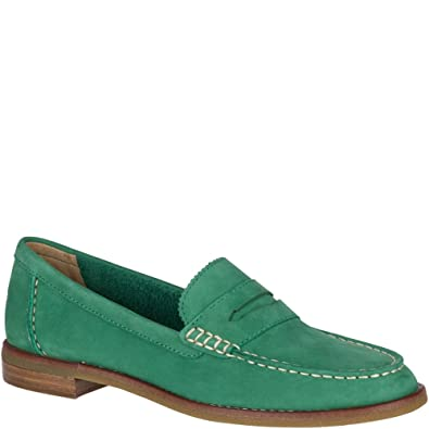 c3f9b361325 Sperry Top-Sider Seaport Penny Loafer Women 5.5 - Green