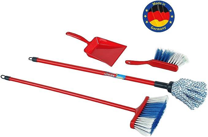 9x Kinder Reinigung Fegen Spielset Mop Besen Pinsel Kehrblech Kinder Spielzeug