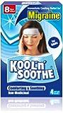 Kool 'n' Soothe Migraine Cooling Strips - 4 Strips