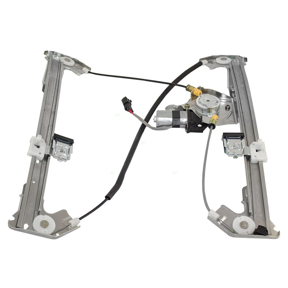 Drivers Rear Power Window Lift Regulator with Motor Assembly Replacement for Ford Lincoln Pickup Truck 6L3Z1627001AA