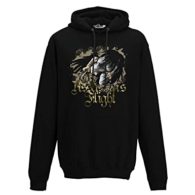 KiarenzaFD Sudadera Capucha Hombre Assassin S Flight Creed Warriors 1 Streetwear, Jet Black