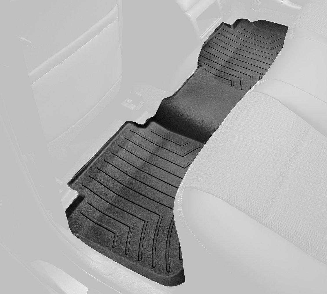 WeatherTech Custom Fit Rear FloorLiner for Toyota Prius Black 442562