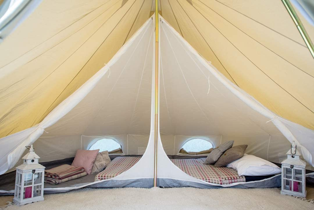 Life Under Canvas Inner room for 4m Bell Tent, Single Room