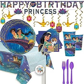 ALADDIN Jasmine and Rajah LUNCH NAPKINS 16 ~ Birthday Party Supplies Luncheon