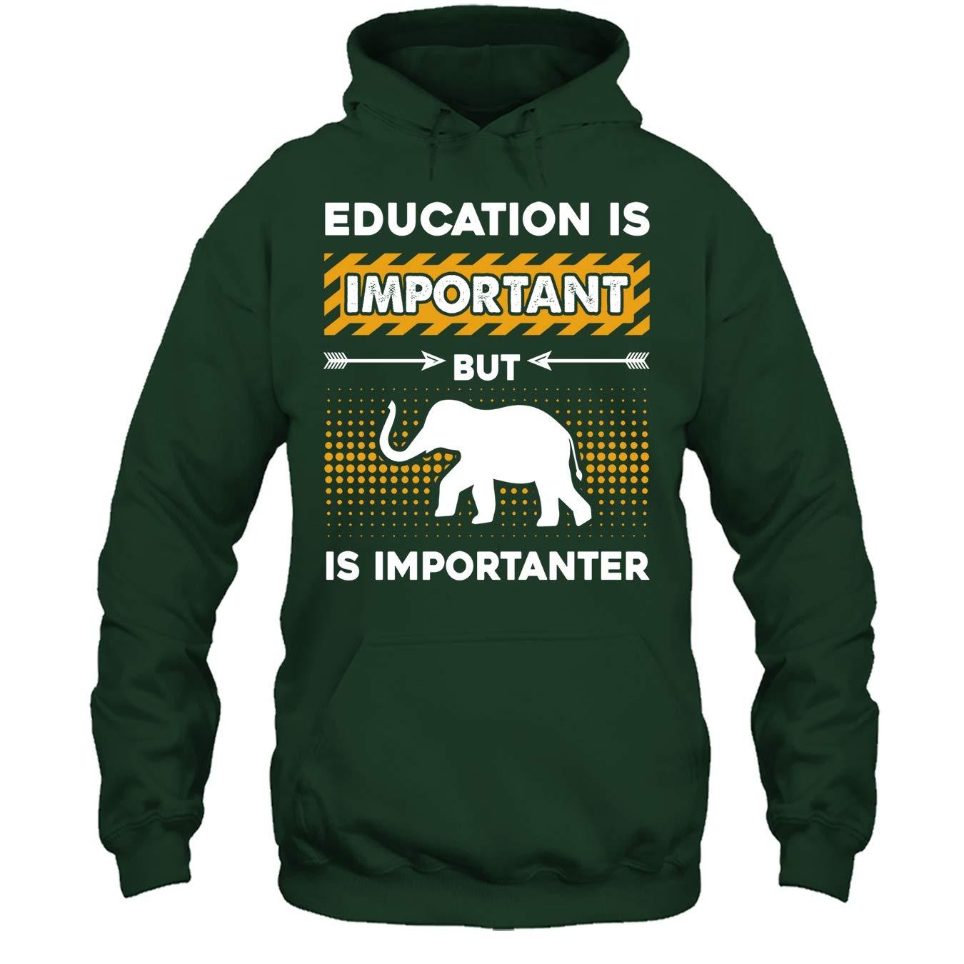 Elephant T Shirt Elephant is Importanter Tee Shirt