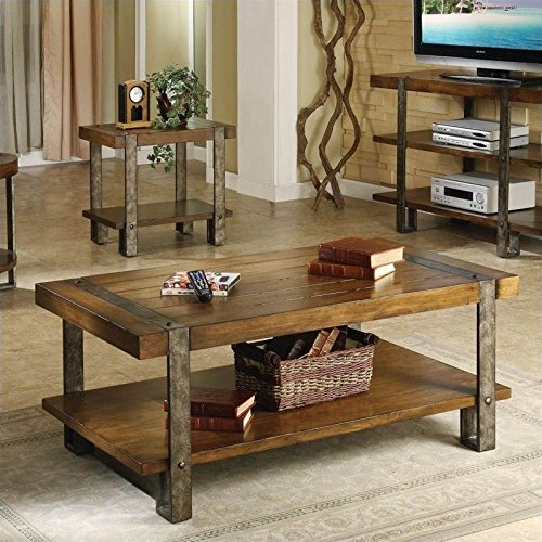 Riverside Furniture 300861 Sierra Rectangular Cocktail Table