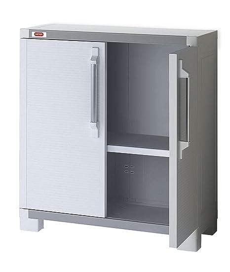 Keter Utilitaire XL Pro Armoire de Base - Blanc, 88 x 45 x ...
