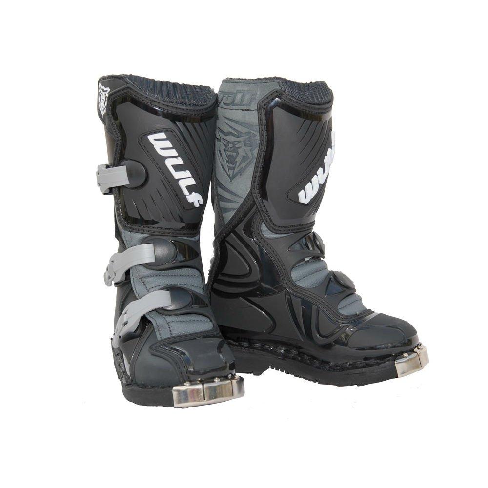 Wulfsport Cub LA Boot Black - Size 34