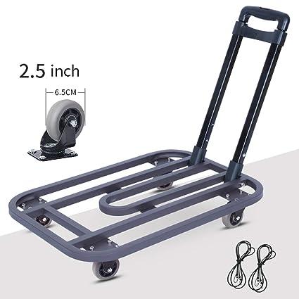 79c86f5a022c Amazon.com: Truck Cart Heavy Duty Flat Bed Transport, Platform ...