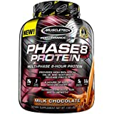 MuscleTech Phase8 Protein Powder, Sustained Release 8-Hour Protein Shake, Milk Chocolate, 4.6 Pounds (2.09kg)