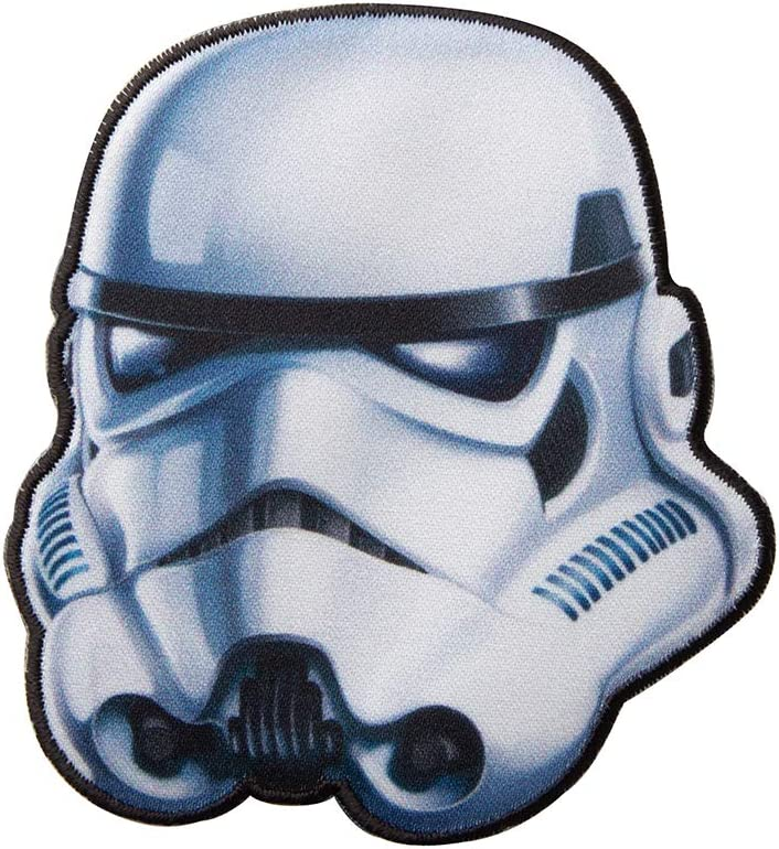 Simplicity 1932175001 Star Wars Stormtrooper Applique Clothing Iron On Patch, 3'' x 3.3
