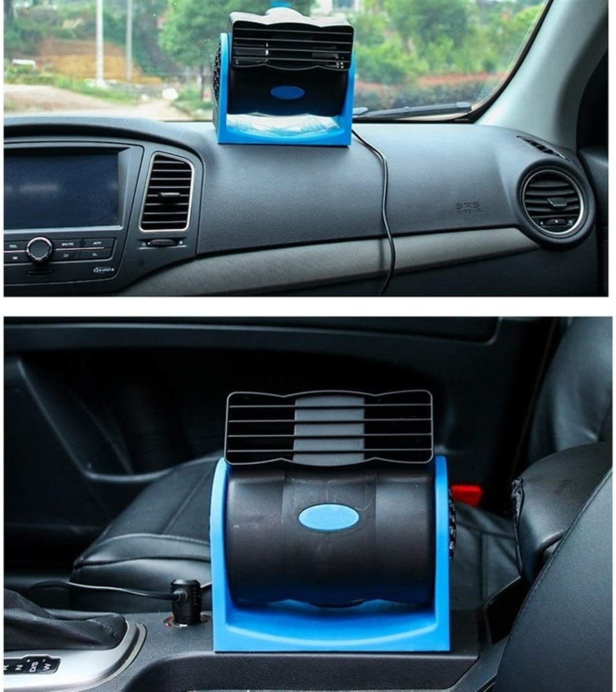HAIMEI-WU Portable Car Air Cooler Fan Automotive Ventilator Low Noise Refrigeration Turbine Fan Radiator 12V Mini Electric Fan