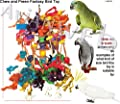 Chew & Preen Fantasy Bird Toy - for the SERIOUS Chewers & Preeners! from Avianweb