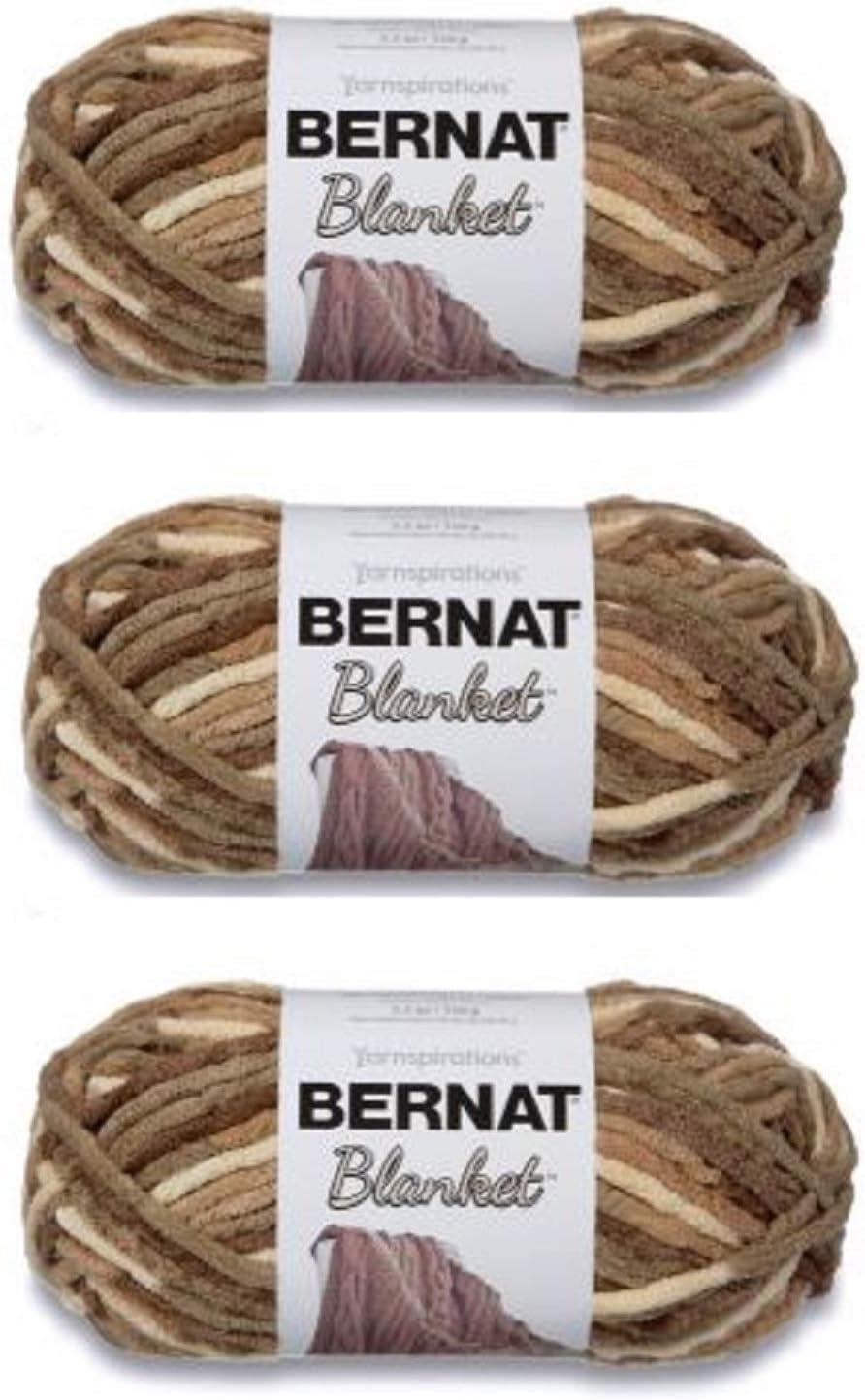 Bernat Blanket Yarn (3-Pack) Sonoma 161200-18