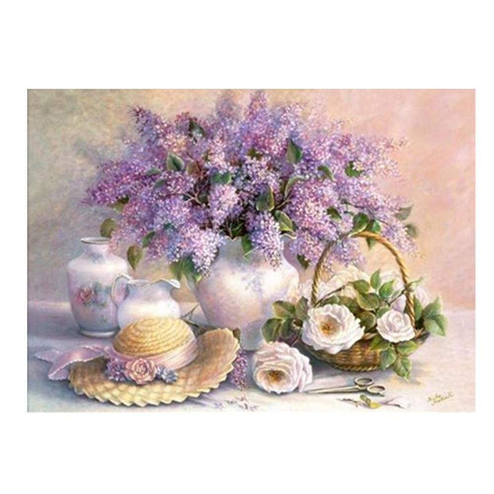 broadroot 5D Diamant Stickerei Flower Painting Kreuzstich Craft Home Decor