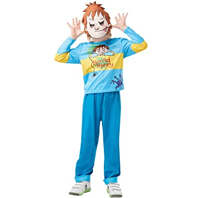 Rubie's Official Horrid Henry, Boys Child Costume, Book Day Character - Medium Age 5-6, Height 116 cm: Toys & Games