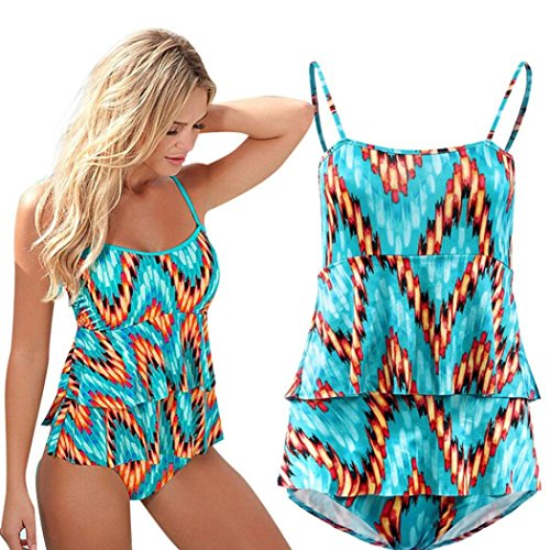 Lisingtool Women Sexy Swimsuit Bodysuit Beachwear Swimwear Bathing Suit (Small)