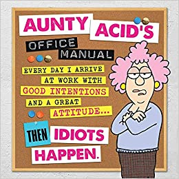 Hilarious Gifts for Office Coworkers Tree-Free Greetings Stainless Coffee Tumbler Funny Aunty Acid Travel Mug 16-Ounce Repeating Mondays SG78429