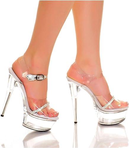 The Highest Heel Womens Peep Toe Heeled Sandal