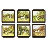 Pimpernel Tally Ho Coasters - Set of 6