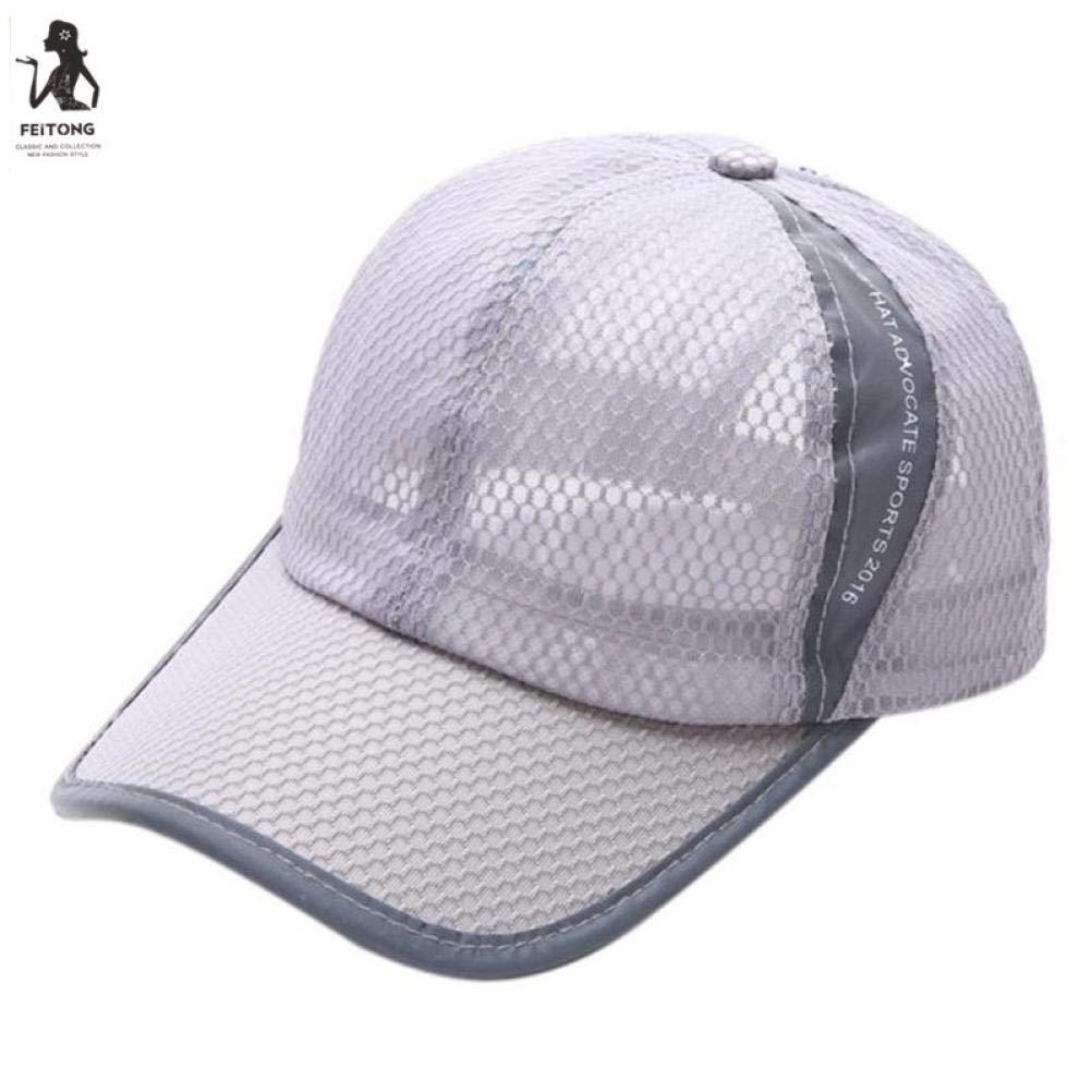 5e8ddbe22 Amazon.com: Unisex Breathable Quick Dry Mesh Baseball Cap Sun Hat ...