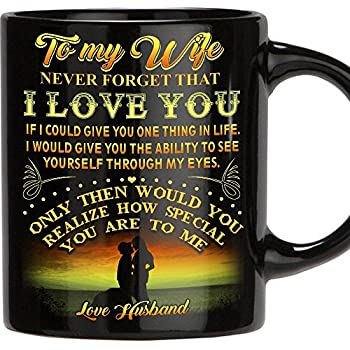 Amazon Com To My Wife I Love You Mug Gift For Wife Best Gift