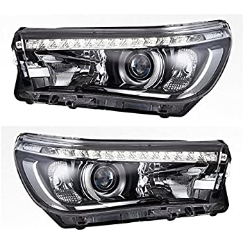 Vland LED Headlights For Toyota Hilux VIGO Hilux Revo 2016-2017 Front headlight, Plug and Play