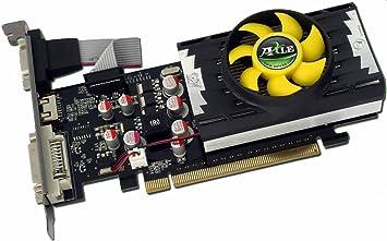AXLE nVidia GeForce G210 - Tarjeta gráfica Low Profile (PCI-e, 1 GB GDDR3, DVI, VGA, HDMI, 1 GPU)