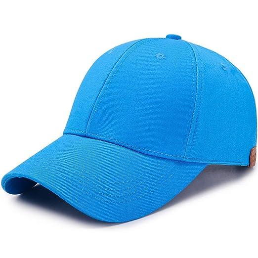 Nueva Gorra de béisbol de Cola de Caballo para Mujer Color sólido ...