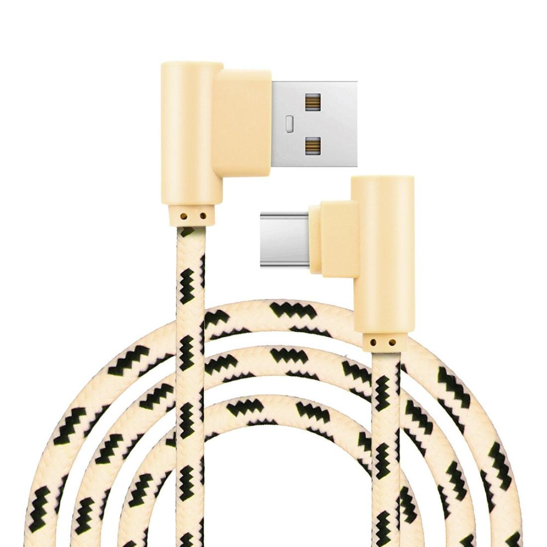 Amazon.com: YJYdada 1M USB Type C Cable USB 2.0 to USB Type-C Fast Charging & Sync Data Cable (Gold): Cell Phones & Accessories
