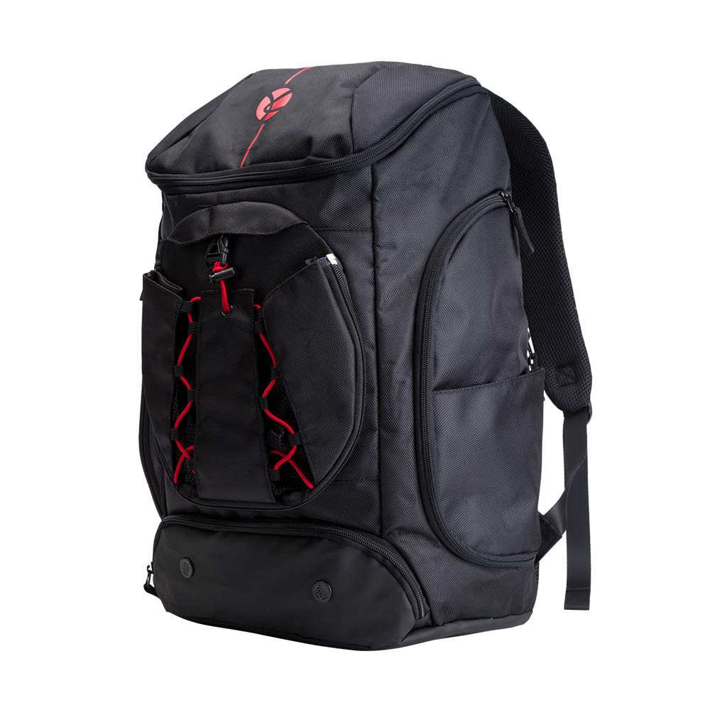 Kuangmi Rucksack mit Ball Tasche Schuhe der Tasche Wet Kleidung Taschen faltbar für Outdoor Sports Basketball Fußball Reisen Schule Gebrauch