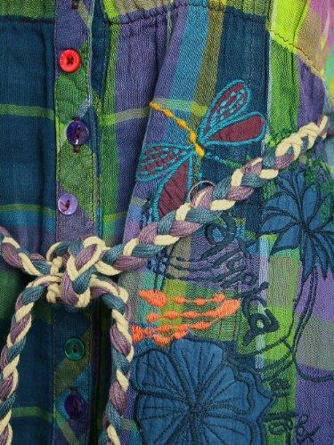 DESIGUAL Femme Designer Top Shirt - MOLLET -