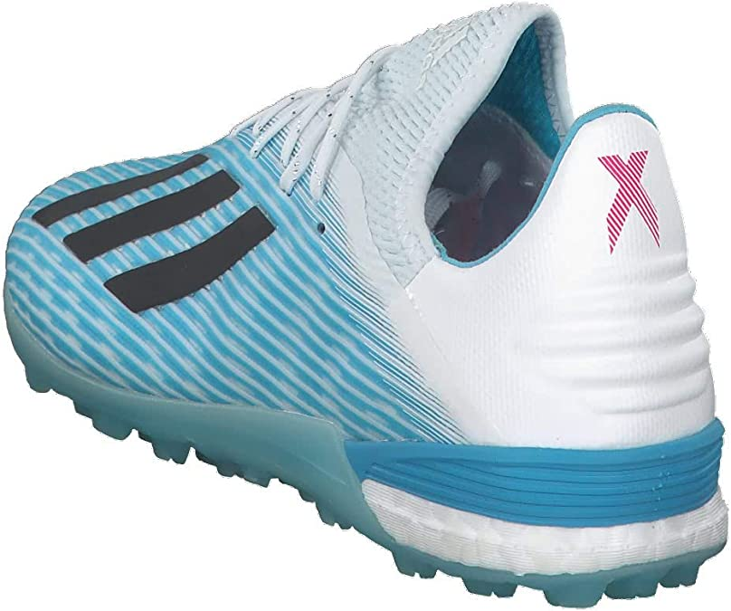 adidas X 19.1 Turf, Chaussure de Football, Bright Cyan Core