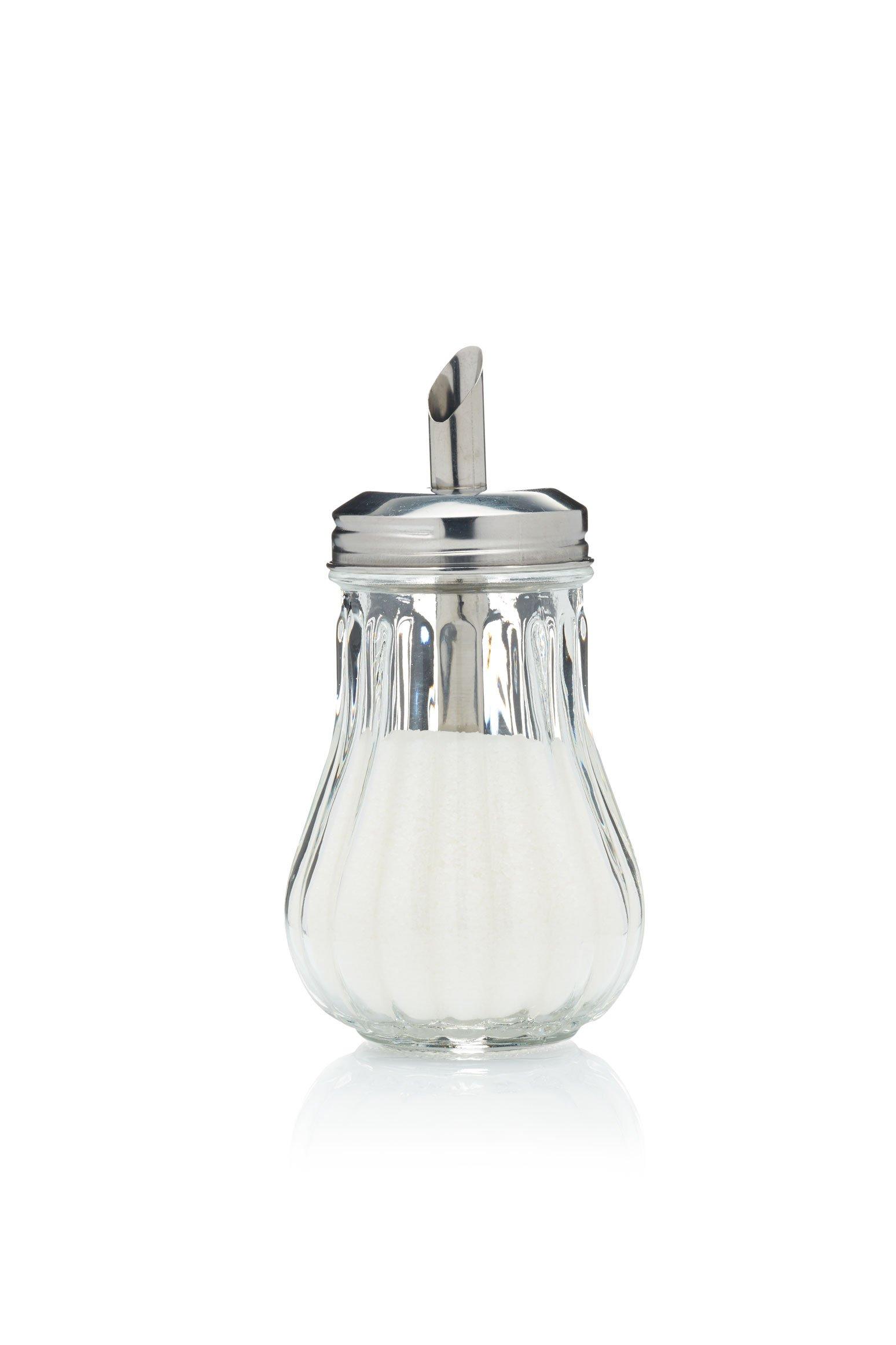 Retro Glass Sugar Dispenser