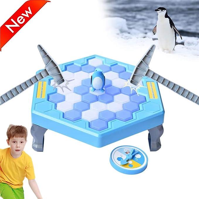 HIMACar Juego De PingüInos Trampa De PingüInos,Juegos De Mesa De Rompecabezas Guardar PingüIno Icebreaker Knock Ice Creativo Pinguinos En El Hielo Beat Interactive Stop Party Game: Amazon.es: Hogar