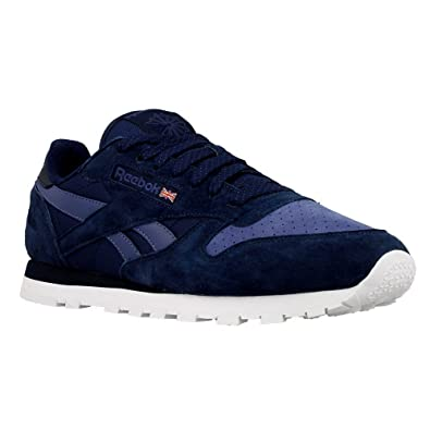 Sneaker Reebok CL Leather NP Blau