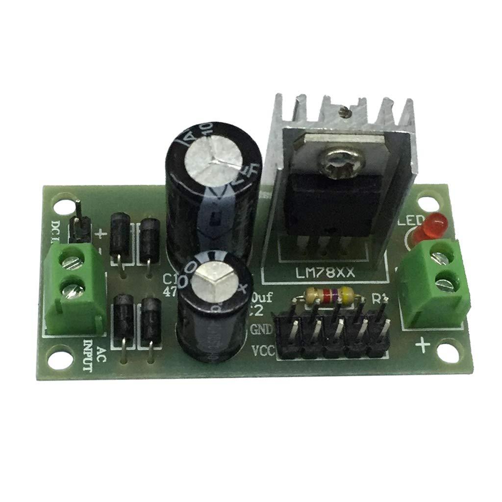 Dolity DC/AC Buck Converter, Step Down Voltage Regulator Module 15-24V to 12V