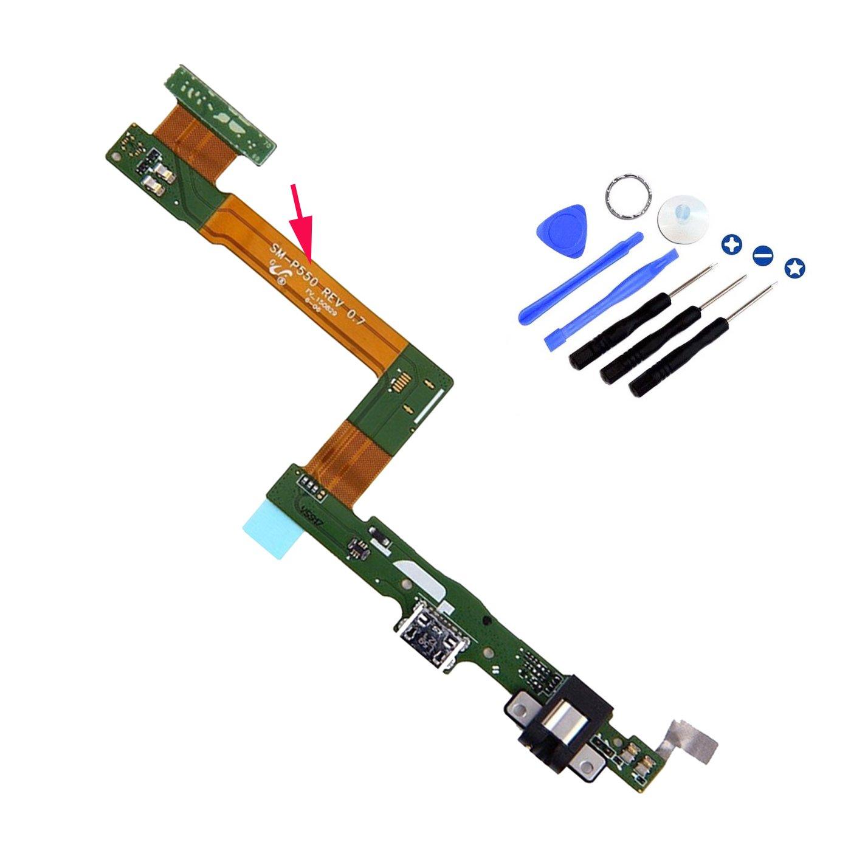 Puerto de Carga para Samsung Tab A 9.7 SM-P550 Wi-Fi
