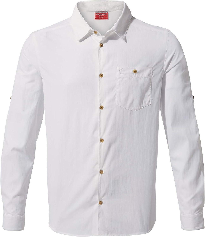 Craghoppers Camisa NL Nuoro LS Hombre: Amazon.es: Ropa y accesorios